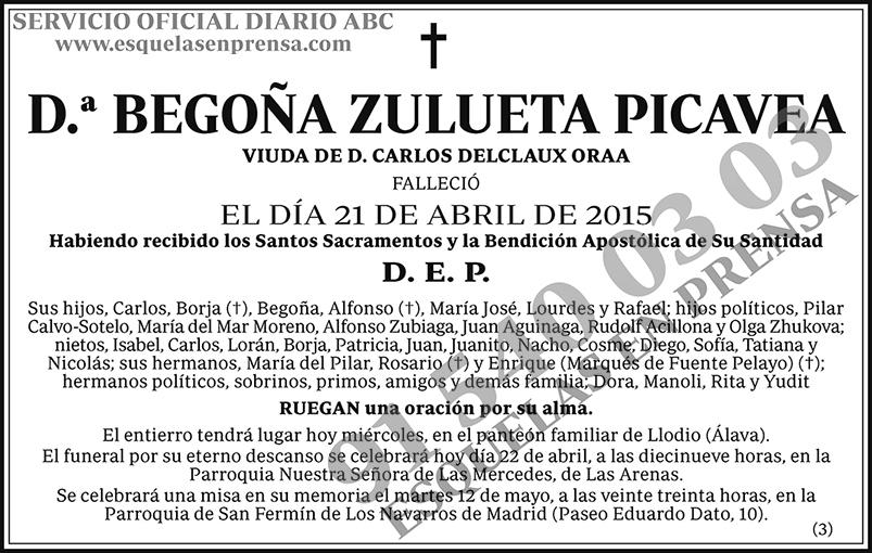 Begoña Zulueta Picavea